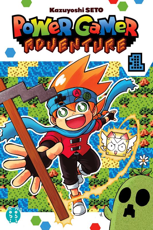 Power gamer adventure T1, manga chez Nobi Nobi! de Seto