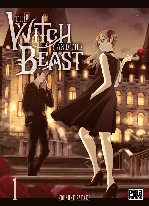 The witch and the beast T1, manga chez Pika de Satake