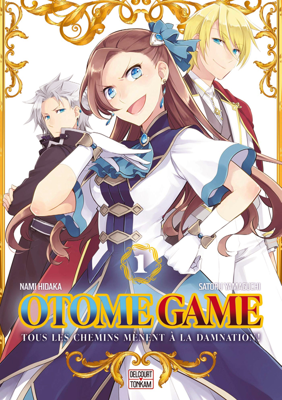 Otome game T1, manga chez Delcourt Tonkam de Yamaguchi, Hidaka