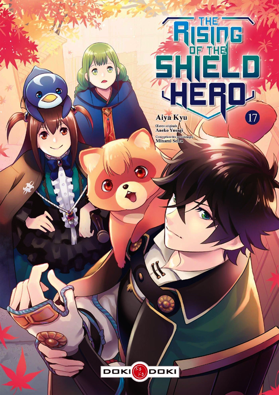 The rising of the shield hero T17, manga chez Bamboo de Aneko, Kyu