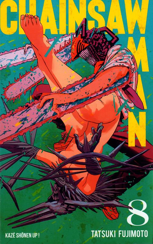 Chainsaw man T8, manga chez Kazé manga de Fujimoto