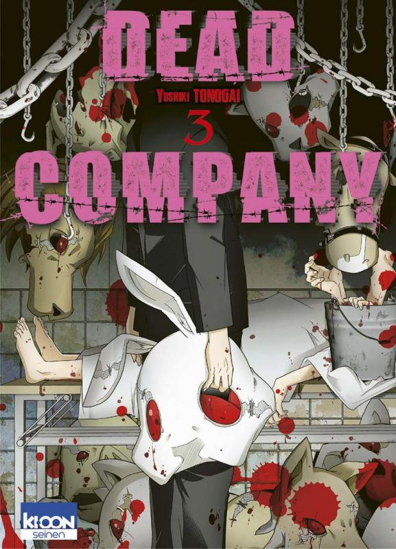 Dead company T3, manga chez Ki-oon de Tonogai