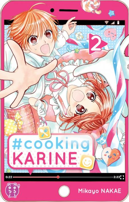 #Cooking Karine T2, manga chez Nobi Nobi! de Nakae