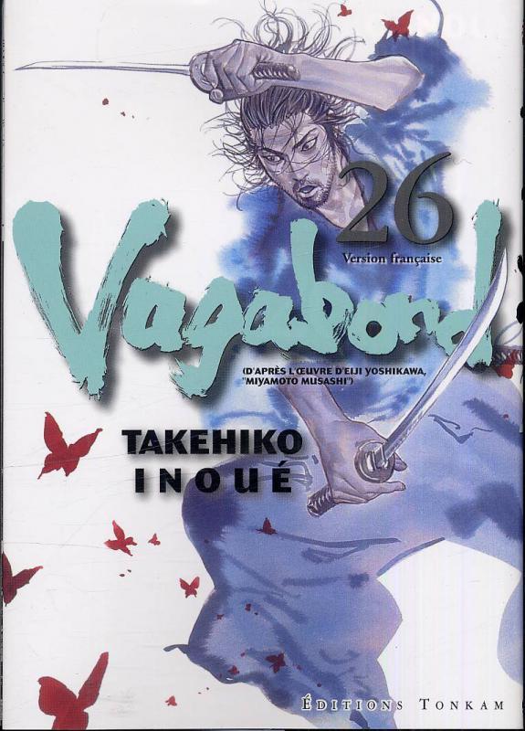 Vagabond T26, manga chez Tonkam de Inoue