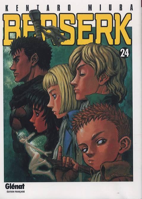 Berserk T24, manga chez Glénat de Miura