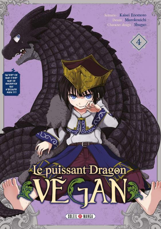 Le puissant dragon végan T4, manga chez Soleil de Enomoto, Muro