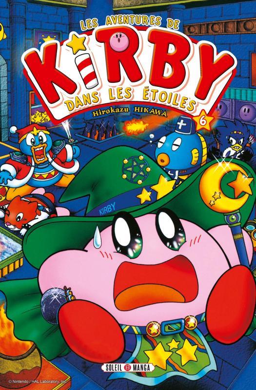 Les aventures de Kirby dans les étoiles T6, manga chez Soleil de Sakurai, Hikawa