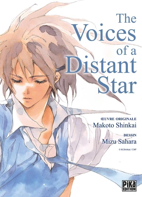 The voices of a distant star, manga chez Pika de Shinkai, Sahara