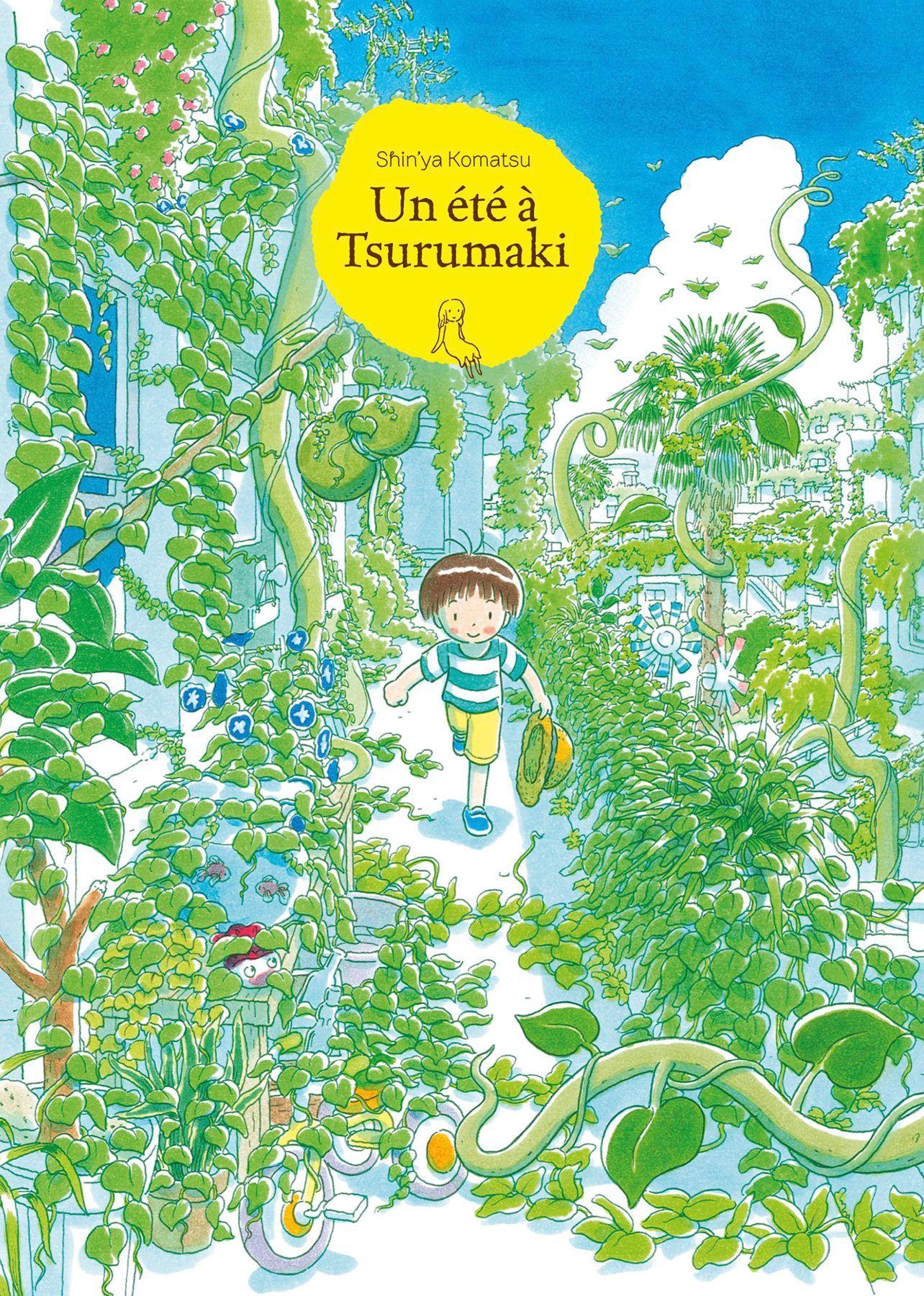 Un été à Tsurumaki, manga chez IMHO de Komatsu