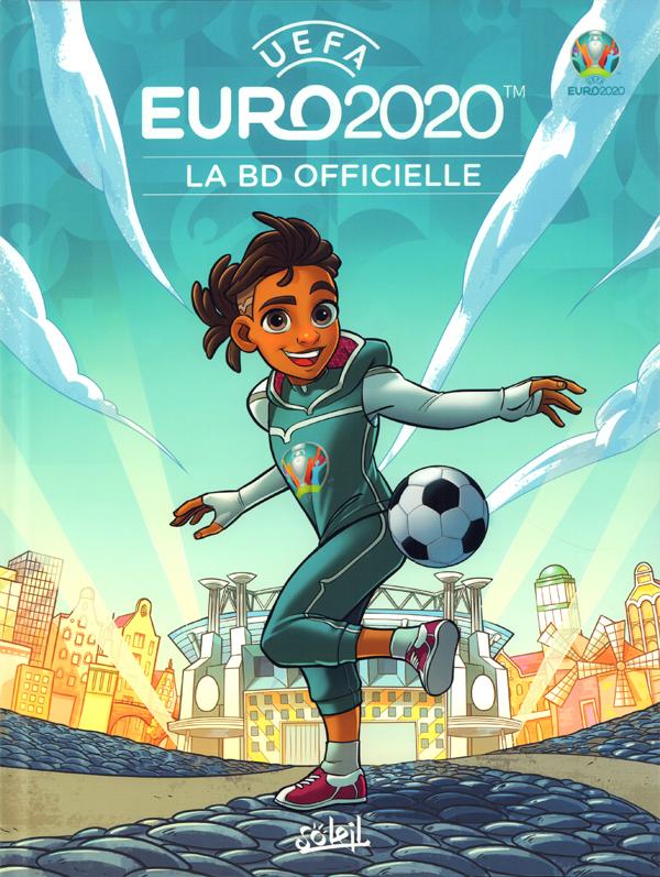 Euro 2020, bd chez Soleil de Danjou, Minonne, Watermark
