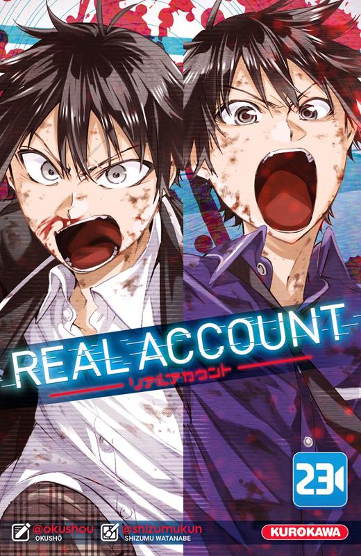 Real account T23, manga chez Kurokawa de Okushou, Shizumukun