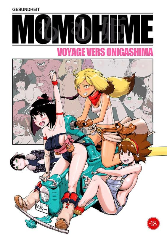 Momohime : Voyage vers Onigashima, manga chez Hot manga de Gesundheit