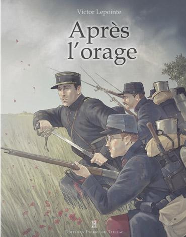 Après l'orage, bd chez Pierre de Taillac de Lepointe
