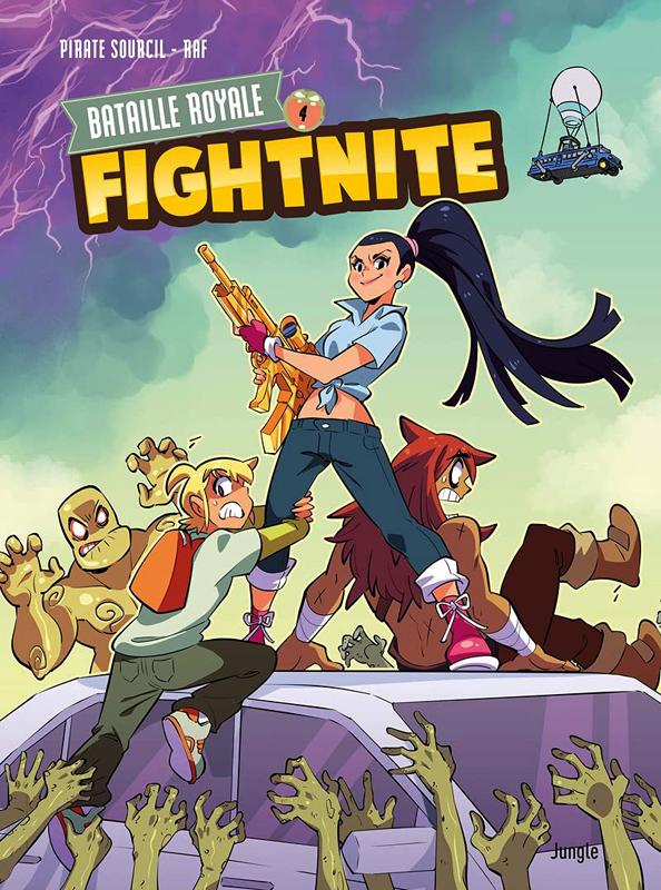 Fightnite T4 : Les mutants (0), bd chez Jungle de Piratesourcil, Raf, Wenish