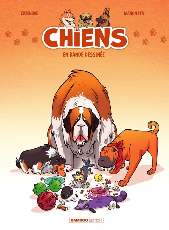 Les Chiens en bande dessinée T1, bd chez Bamboo de Cazenove, Ita, BenBK