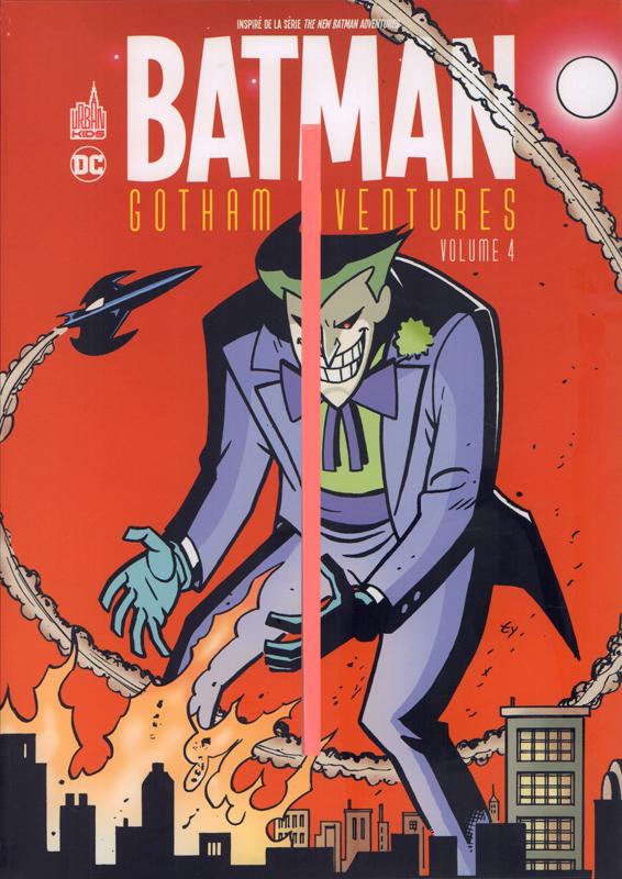 Batman Gotham aventures  T4, comics chez Urban Comics de Templeton, Dixon, Brubaker, Peterson, Levins, Rader, Staton, Beatty, Smith, Loughridge, Zylonol