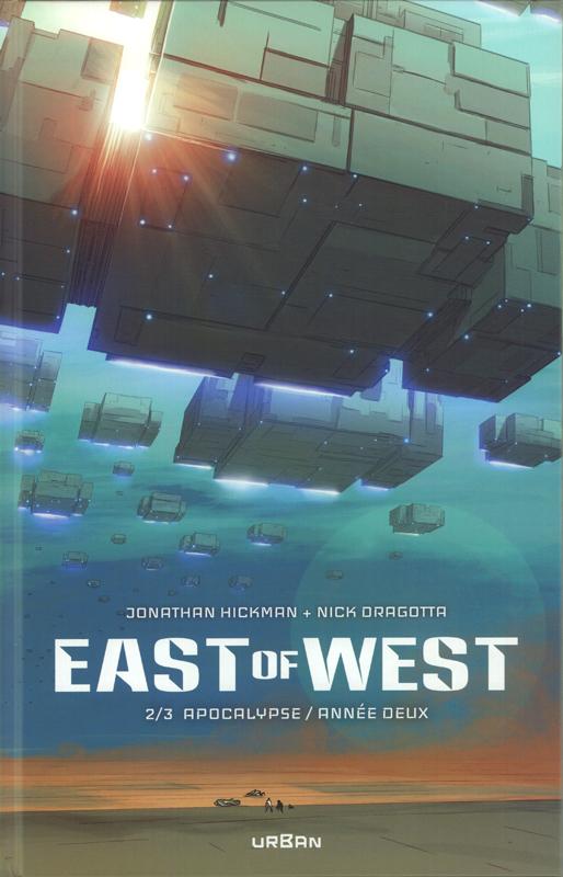 East of west T2 : Apocalypse : année deux  (0), comics chez Urban Comics de Hickman, Dragotta, Martin