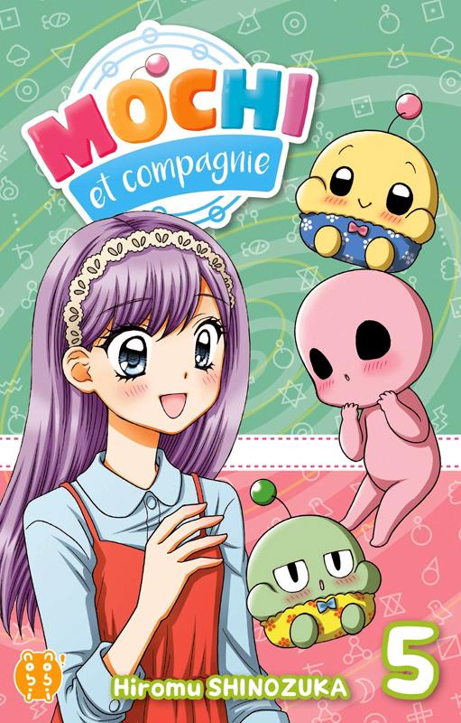 Mochi et compagnie T5, manga chez Nobi Nobi! de Shinozuka