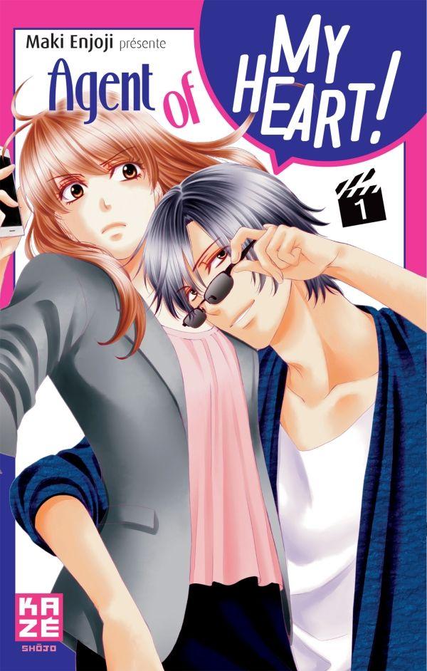Agent of my heart T1, manga chez Kazé manga de Enjoji