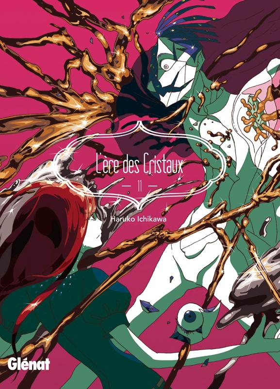 L'ère des cristaux T11, manga chez Glénat de Ichikawa