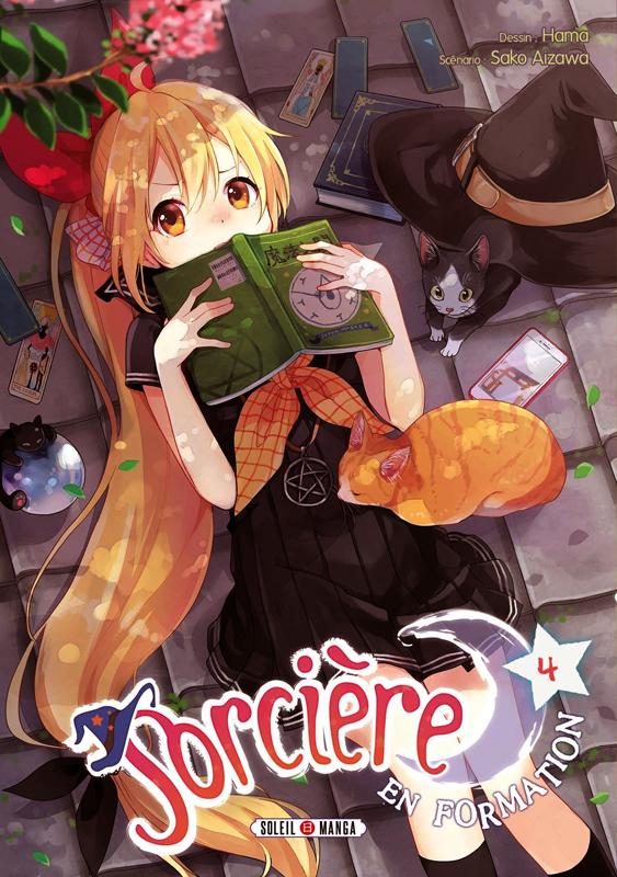 Sorcière en formation T4, manga chez Soleil de Aizawa