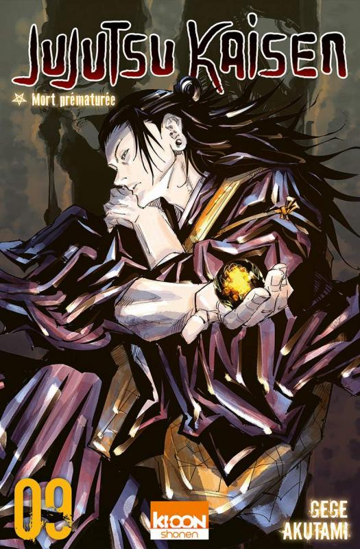 Jujutsu Kaisen T9, manga chez Ki-oon de Akutami