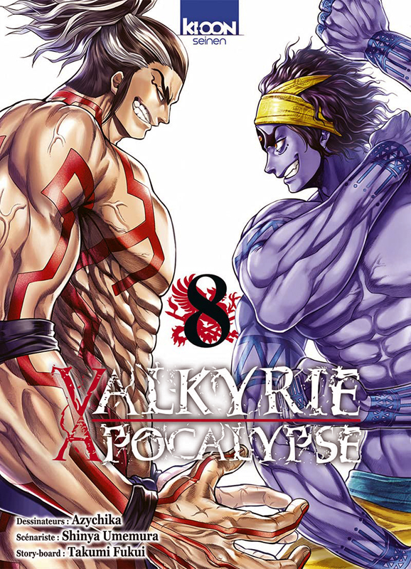 Valkyrie apocalypse T8, manga chez Ki-oon de Umemura