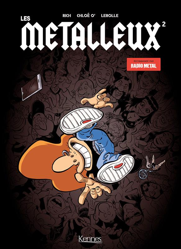 Les Metalleux T2, bd chez Kennes éditions de Rich, Ozanne, Lerolle