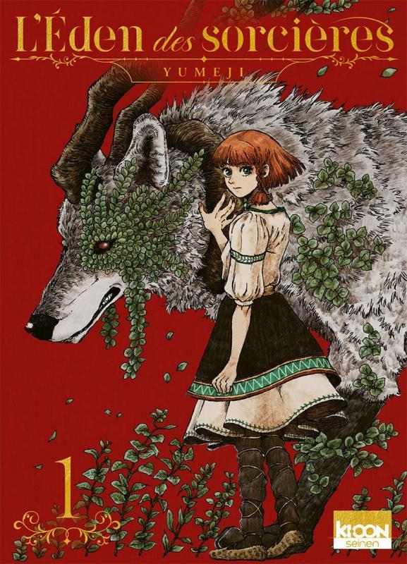 L'eden des sorcières T1, manga chez Ki-oon de Yumeji