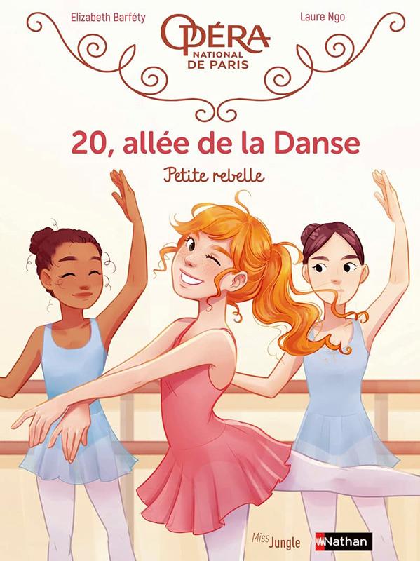 20, allée de la danse T4 : Petite rebelle (0), bd chez Jungle de Barféty, Ngo
