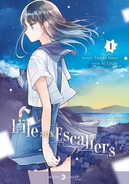 L'île aux escaliers  T1, manga chez Delcourt Tonkam de Todo, Uzuki