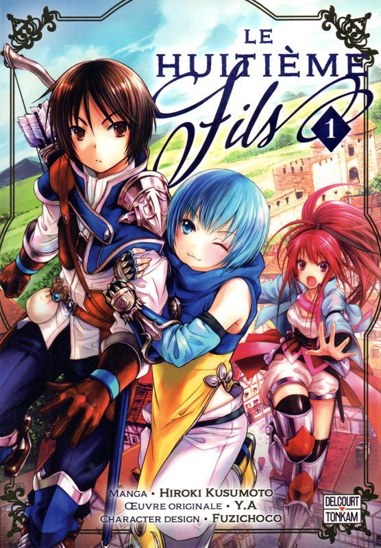 Le huitième fils  T1, manga chez Delcourt Tonkam de Y.A, Kusumoto