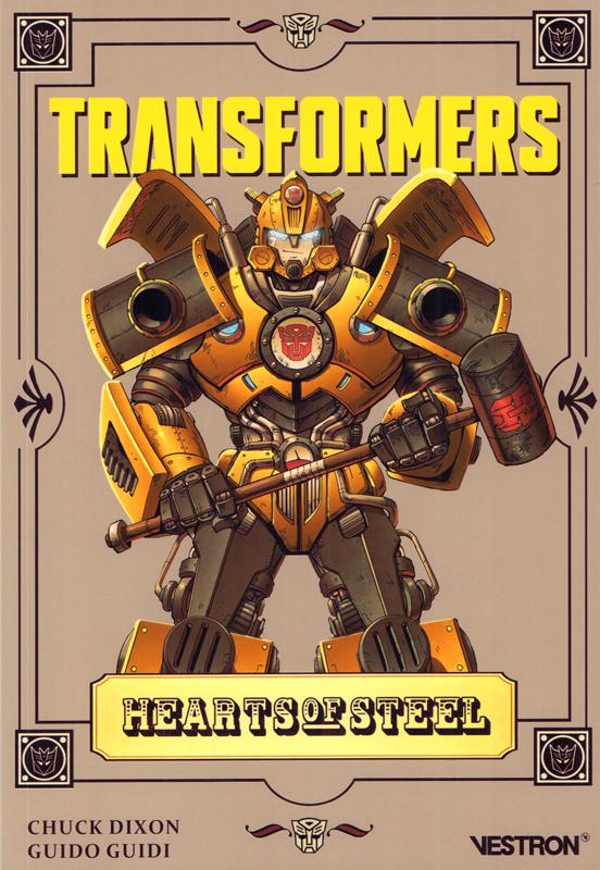 Transformers: hearts of steel, comics chez Vestron de Dixon, Guidi, Vasquez, Czerniawski, Burcham, Fotos, Lafuente