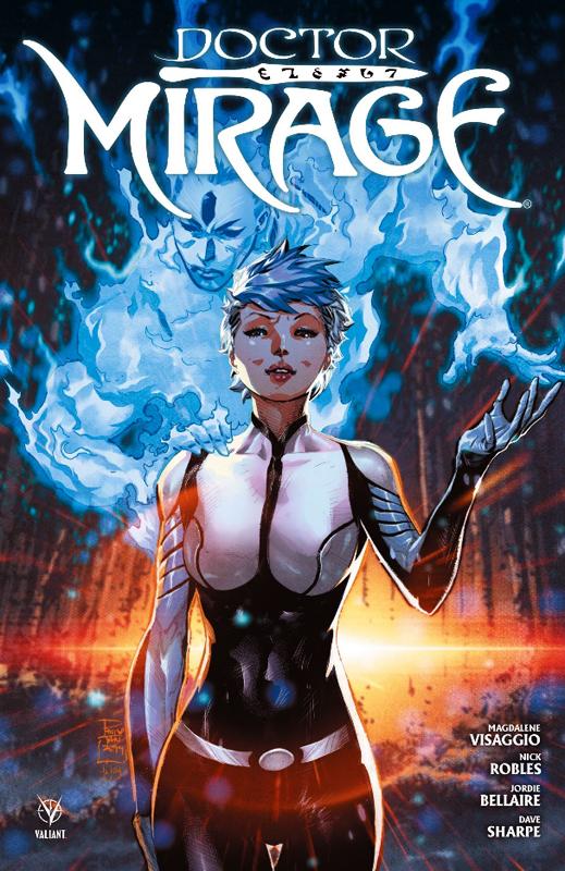Doctor Mirage, comics chez Bliss Comics de Visaggio, Robles, Bellaire, Tan