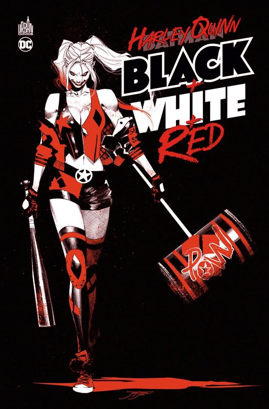 Harley Quinn  : Harley Quinn Black + White + Red (0), comics chez Urban Comics de Collectif, Jimenez