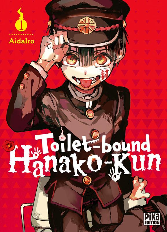 Toilet-bound Hanako-kun T1, manga chez Pika de Aidalro