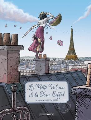 La Petite voleuse de la tour Eiffel, bd chez Bamboo de Manini, Richez, Ratte