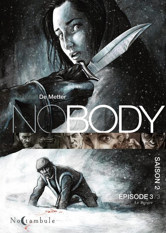 NoBody – cycle 2 : Saison, T3, bd chez Soleil de de Metter