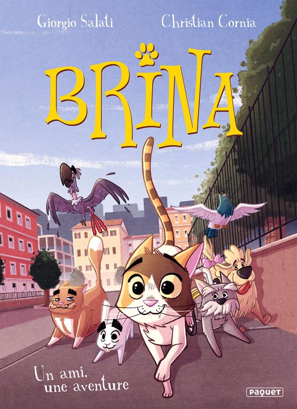 Brina T2 : Un ami, une aventure (0), bd chez Paquet de Cornia
