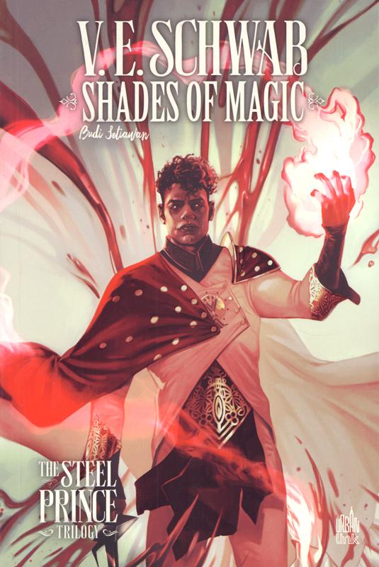 Shades of magic T2, comics chez Urban Comics de V.E. Schwab, Settawan, Spinelli