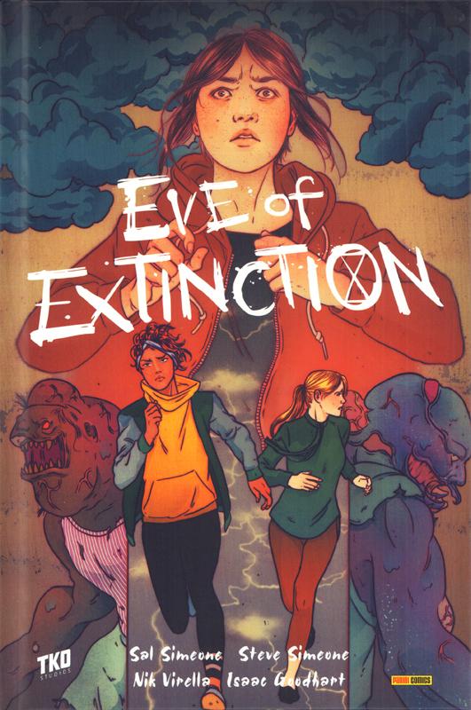 Eve of extinction, comics chez Panini Comics de Simeone , Simeone , Goodhart, Virella, Redmond, Nguyen