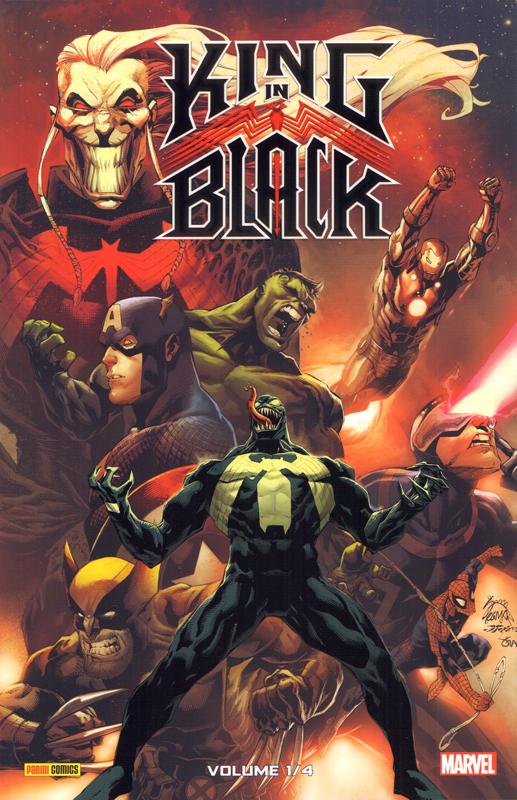 King in black  T1, comics chez Panini Comics de Cates, Ewing, Collectif, Stegman, Martin