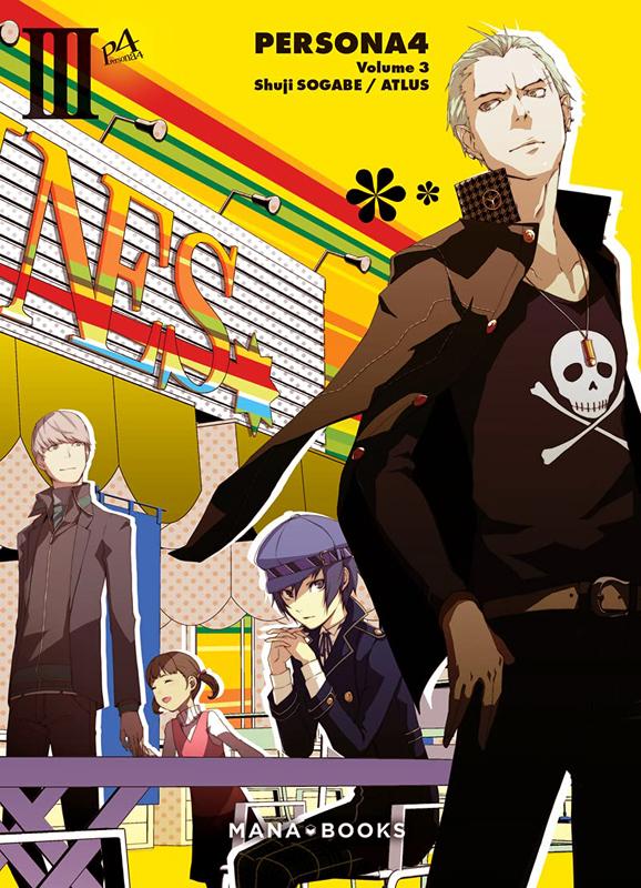 Persona 4 T3, manga chez Mana Books de Sogabe, Atlus