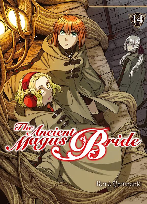The ancient magus bride  T14, manga chez Komikku éditions de Yamazaki
