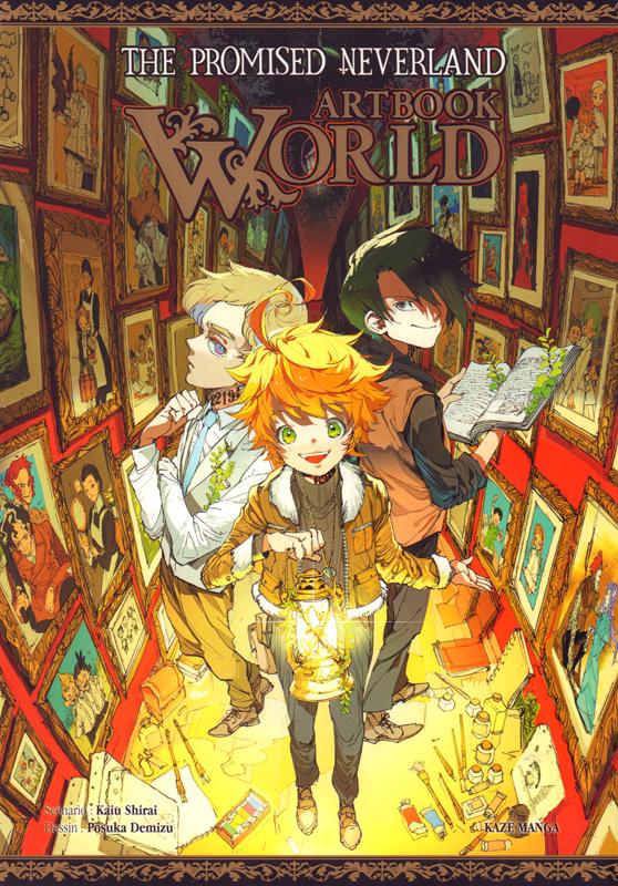 The promised neverland : Artbook World (0), manga chez Kazé manga de Shirai, Demizu
