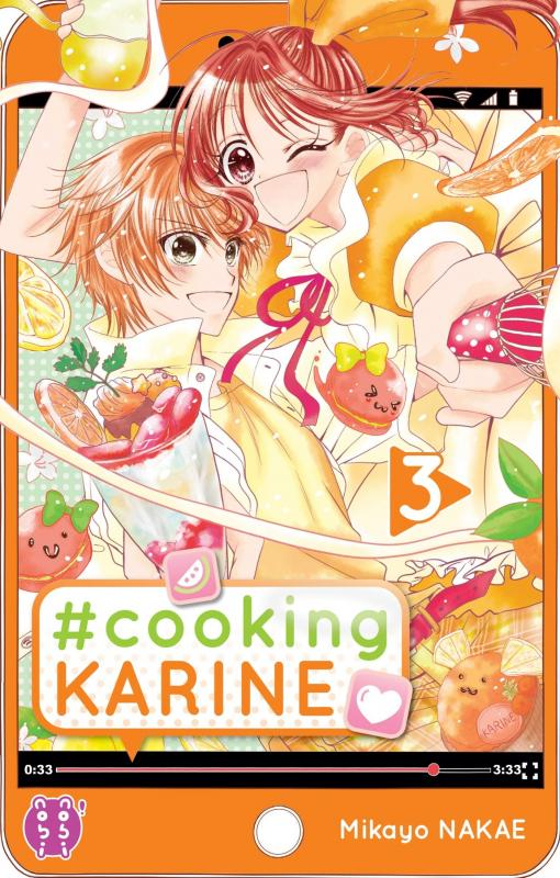 #Cooking Karine T3, manga chez Nobi Nobi! de Nakae