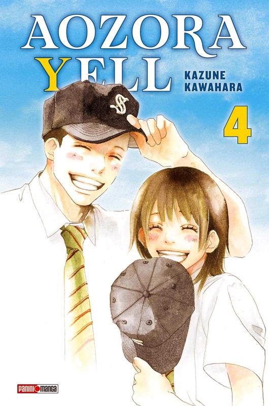 Aozora yell T4, manga chez Panini Comics de Kawahara