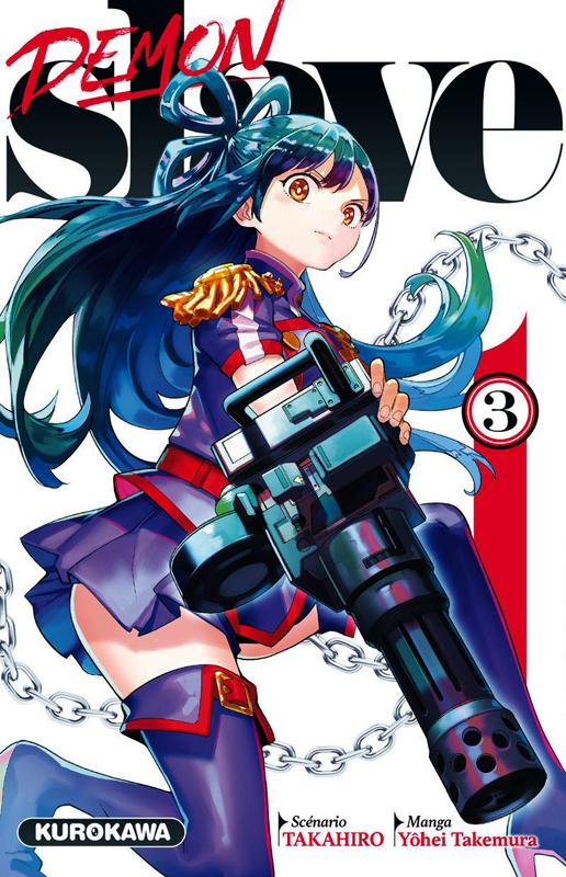 Demon slave T3, manga chez Kurokawa de Takahiro, Takemura