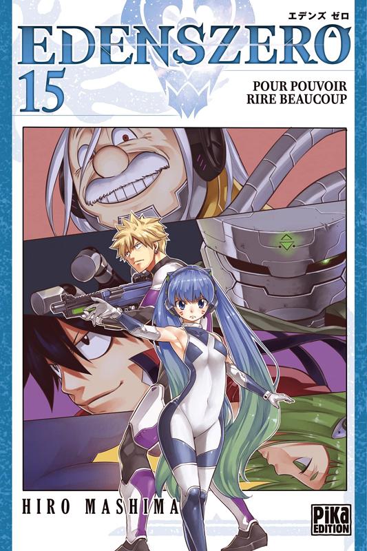 Edens zero T15, manga chez Pika de Mashima