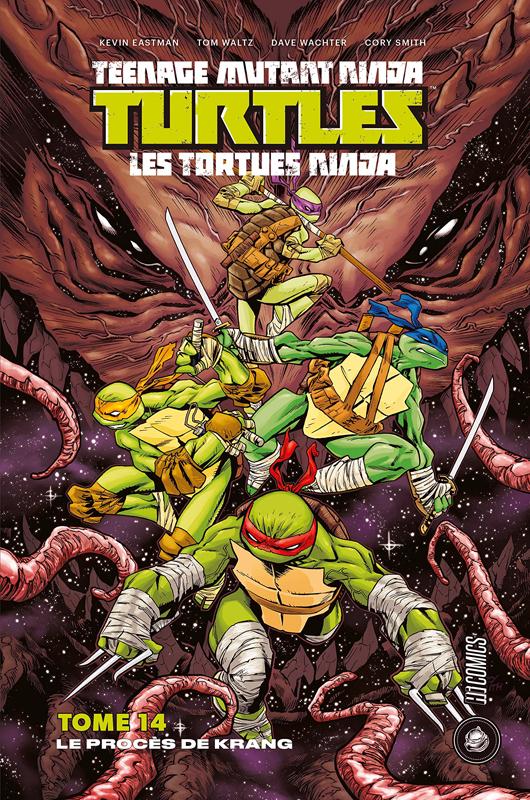Teenage Mutant Ninja Turtles Classics T14 : Le Procès de Krang (0), comics chez Hi Comics de Waltz, Curnow, Eastman, Smith, Wachter, Pattison